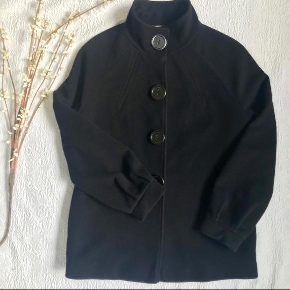 Tahari Jackets & Blazers - ⭐️TAHARI PEA COAT⭐️ WOMENS BUTTON SNAPS